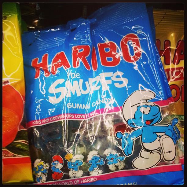 haribo smurf gummies