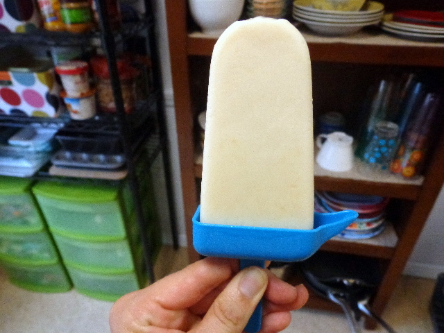 lemon cream popsicle