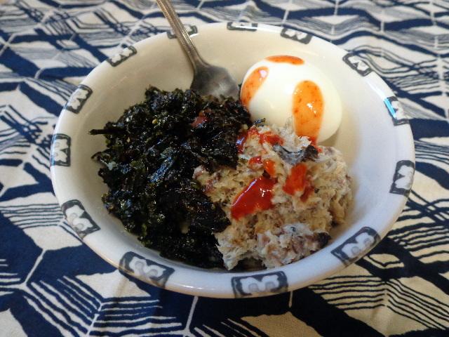seaweed, egg, herring and barley