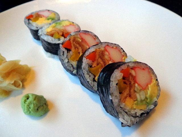sushi at mizu