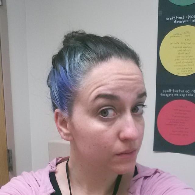 goodbye purple hair
