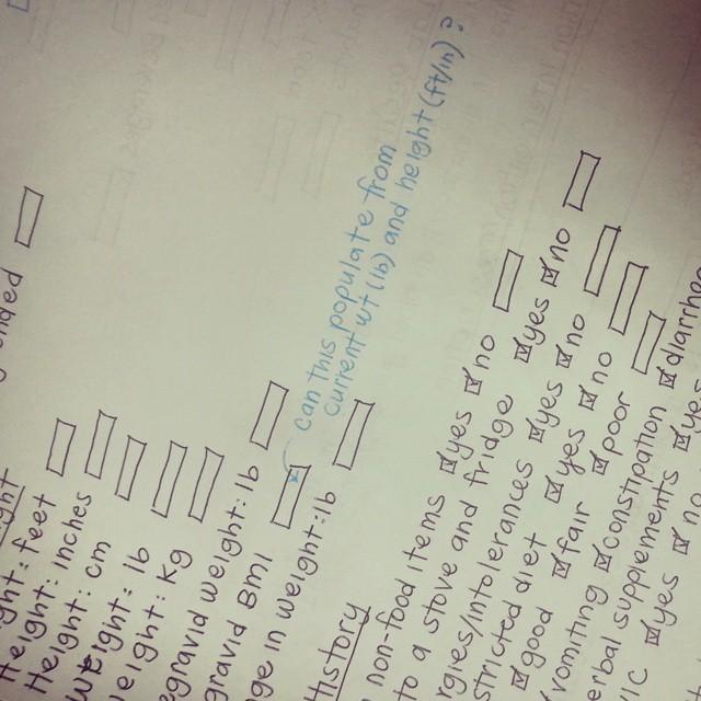 handwritten emr