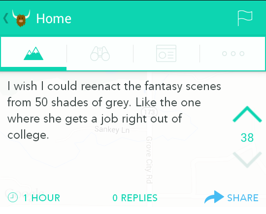 50 shade of unrealistic