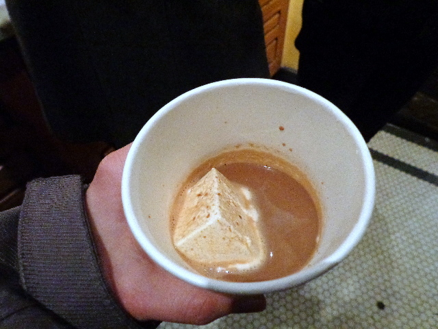 hot chocolate at amy's bread nyc