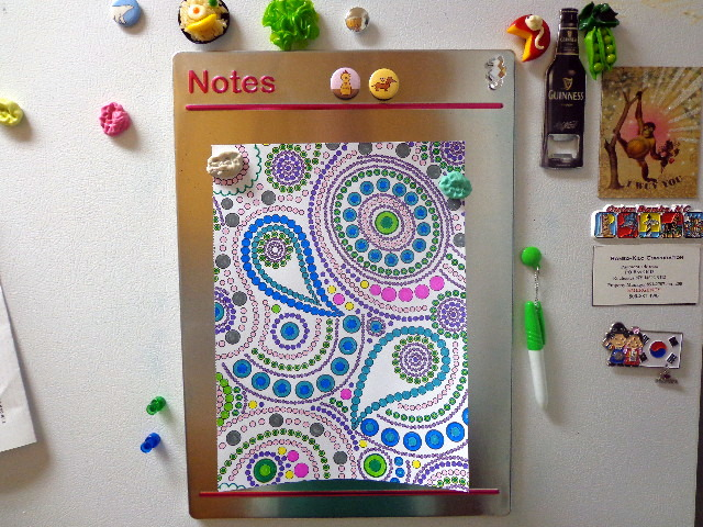 paisleys, coloring for everyone