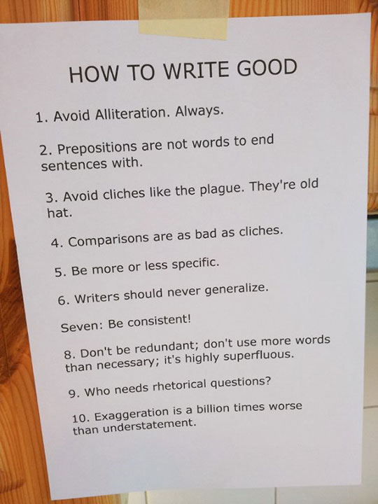 writers' manual